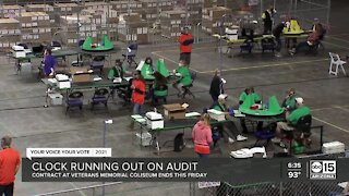 Election audit recount to pause for high school graduations