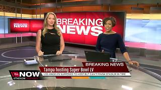 Super Bowl LV moving to Tampa, per NFL - Video