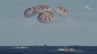 SpaceX's Crew Dragon capsule returns from ISS