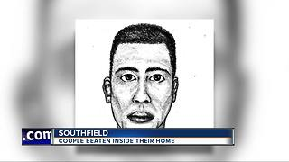 Sketch released after Southfield couple attacked in home invasion - Video