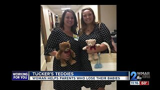Tucker's Teddies: Woman helps parents who lose their babies