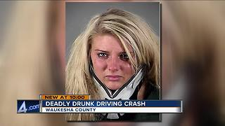 Woman charged in DUI crash that killed mother of two - Video