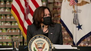 Vice President Kamala Harris visits Jacksonville on 'Help is Here' tour