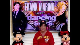 Frank Marino recaps Dancing With The Stars