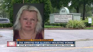 Nursing assistant arrested for allegedly molesting elderly disabled woman in Pasco - Video