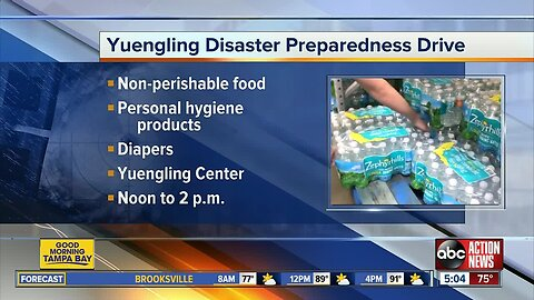 Hurricane supply donation drive being held on Monday