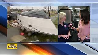 Salvation Army crew from Tampa heading to Texas with essential supplies - Video