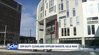 Cleveland police sergeant working off-duty shoots, kills man at Corner Alley after being attacked - Video