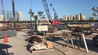 Vertical construction begins on St. Pete Pier | Digital Short