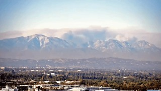 Smoke Plumes From Blue Cut Fire Visible 80 Miles Away - Video