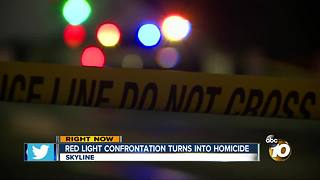 Red light confrontation turns into homicide - Video