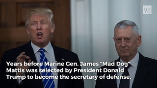 The Day a US Marine 'Caught' James Mattis in a Surprising Place on Christmas Day - Video