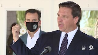 'They can get vaccinated,' DeSantis says of home health care workers