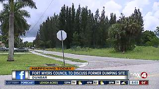 Fort Myers Council to discuss toxic sludge - Video