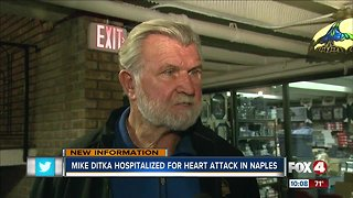 Mike Ditka hospitalized in Naples after heart attack