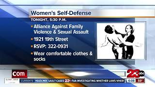 Free women's self-defense class - Video
