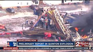 Investigators look deeper into cause of deadly gas explosion in Quinton - Video