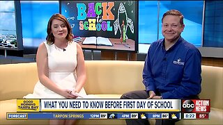 What you need to know before first day of school