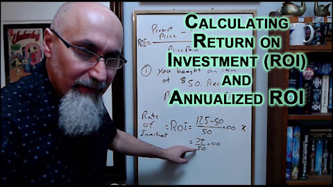 ASMR Math: Compound Interest, Return on Investment, Annualized ROI, Personal Finance, Investing