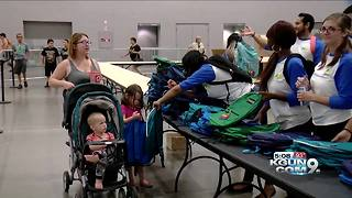 Lawmen spearhead school supply drive - Video