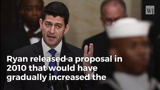 Did Paul Ryan Propose Raising the Retirement Age to 70?