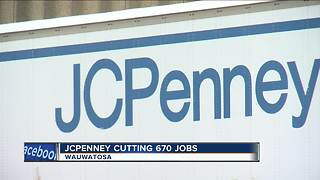 J.C. Penney to close Wauwatosa distribution center, lay off 670 workers - Video
