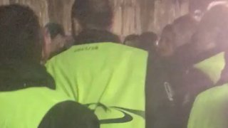 Chelsea Fans Report 'Disgraceful' Behaviour From Security Guards at Nou Camp - Video