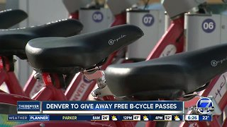 Denver is giving away free B-Cycle passes