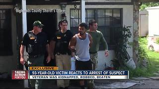 Man arrested for robbery, kidnapping 93-year-old - Video