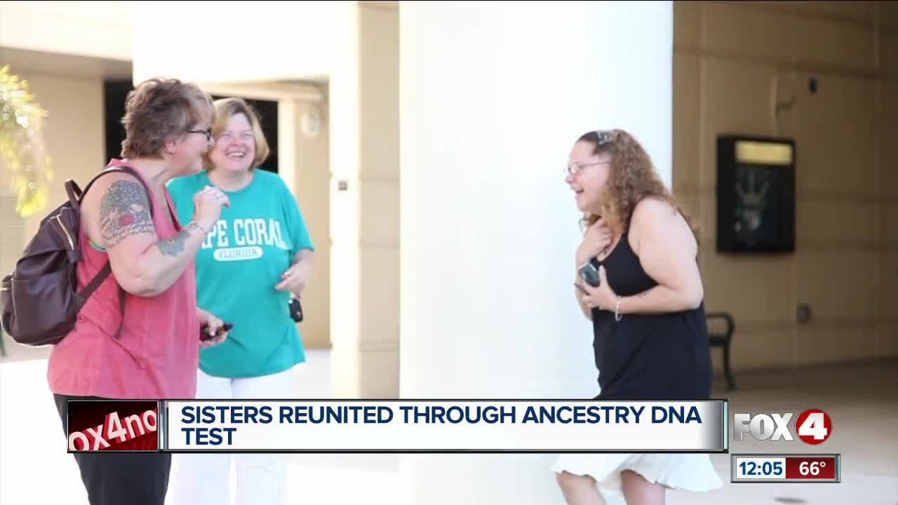 Adopted woman is reunited with her sisters after fifty plus years