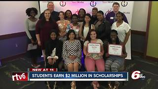 Students overcoming the odds receive $2 million in scholarships - Video