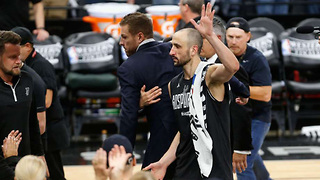 Manu Ginobili RETIRING After Getting Swept by the Warriors? - Video