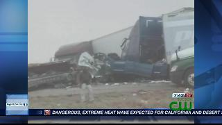 Six die in I-10 wreck near New Mexico - Video