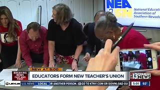 Teachers form new union to address pay and benefits