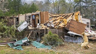Severe Storms, Tornadoes Slam Southern States