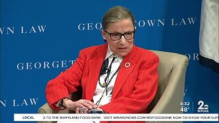 Justice Ruth Bader Ginsburg hospitalized