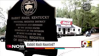 Rabbit Hash shop owners, community members swear their town is totally 'haunted' - Video