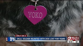 Okla. Soldier Reunited with Dog