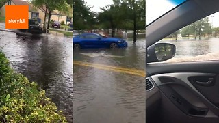 Flooding Causes Chaos in Florida - Video