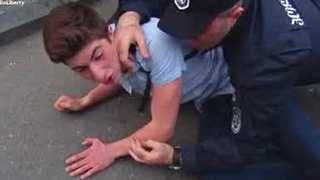 LGBT Activist Assaulted During Anti-Homophobia Rally - Video
