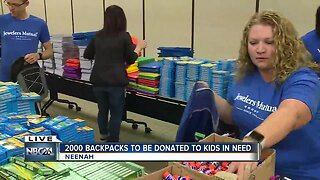 Jewelers Mutual giving back with school supplies