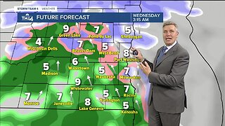 Light snow tonight, will melt by tomorrow afternoon