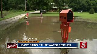 Flooding Closes Roads In Lawrence, Perry Co. - Video
