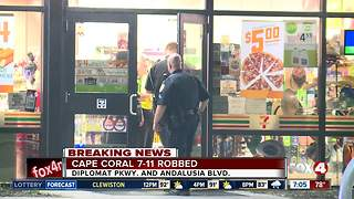 Cape Coral police looking for armed convenience store robber - Video