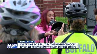 Sixteen-year-old receives grant to clean East Side