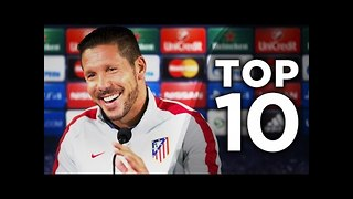 Top 10 Best Football Managers In Europe - Video