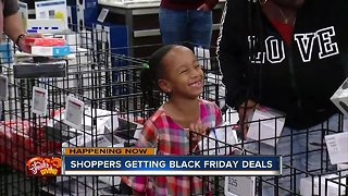 Shoppers get an early start on Black Friday deals