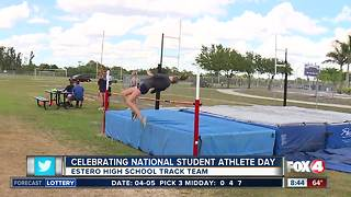 Honoring local students on National Student Athlete Day - 8:30am live report