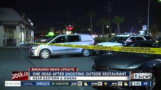 One dead outside restaurant