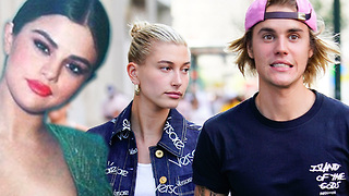 Selena Gomez SHOCKED Over Justin Bieber's SURPRISE Engagement To Hailey Baldwin! - Video